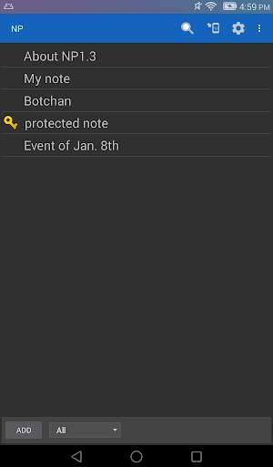 NP-Notepad screenshot 7