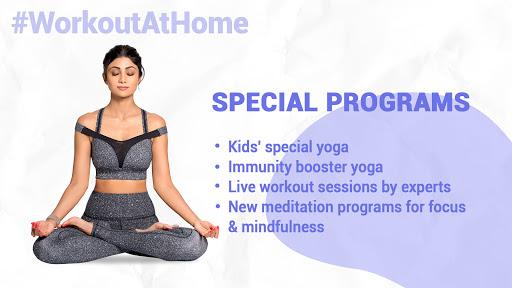 Simple Soulful - Shilpa Shetty: Yoga Exercise Diet screenshot 9