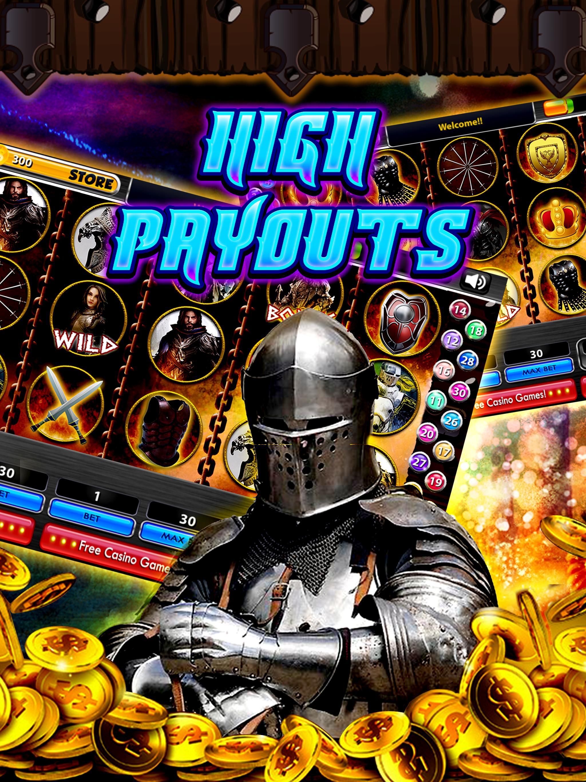 Sir Lancelot Slots – Jackpot 3 تصوير الشاشة