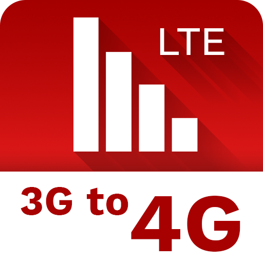 3G To 4G LTE with Internet Speed Test & Data Usage icon