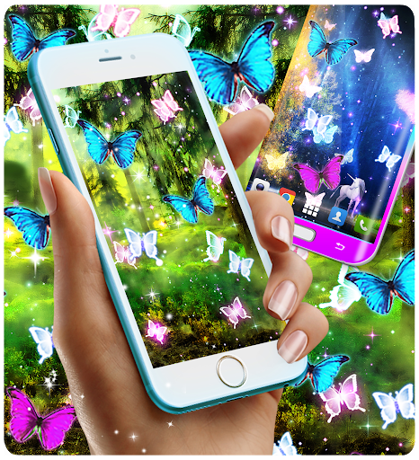 Magical forest live wallpaper screenshot 2