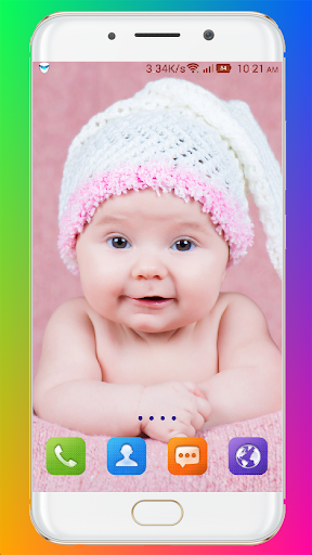 Cute Baby Wallpaper screenshot 15