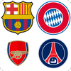 Football Club Logo : Short Name Quiz أيقونة
