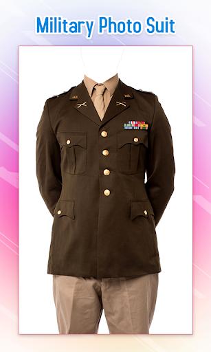 Military Photo Suit 2 تصوير الشاشة