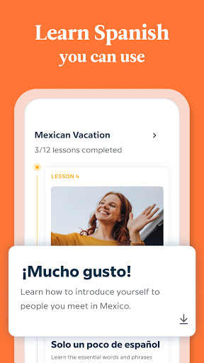 Babbel - Learn Languages - Spanish, French & More 7 تصوير الشاشة