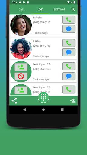 Contacts, Dialer and Phone by Facetocall screenshot 5