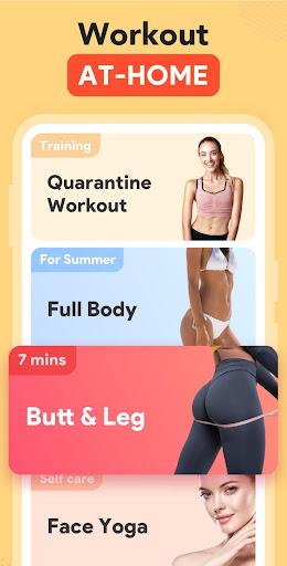 Women Workout at Home - Female Fitness screenshot 1