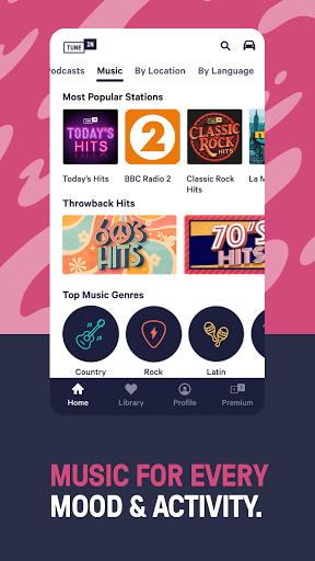 TuneIn Radio: Live News, Sports & Music Stations 6 تصوير الشاشة