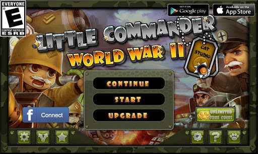 Little Commander - WWII TD screenshot 9