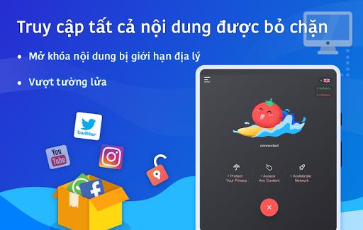 VPN Tomato miễn phí   Điểm truy cập nhanh nhất screenshot 8
