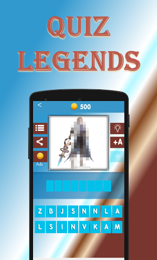 Quiz Legends. Guess the Hero 1 تصوير الشاشة