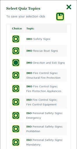 Marine Safety Signs screenshot 6