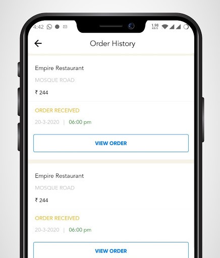 Hotel Empire -Food Order & Delivery screenshot 8