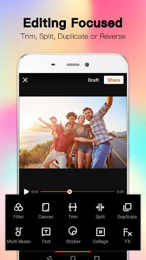 VivaVideo Lite: Video Editor & Slideshow Maker screenshot 3