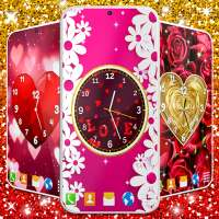 Love Clock Wallpaper ❤️ Hearts 4K Live Wallpaper on APKTom