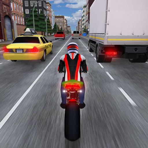 Race the Traffic Moto आइकन