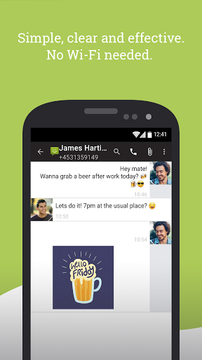 SMS From Android 4.4 screenshot 2