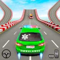 Ambulance Car Stunt Games: Mega Ramp Car Games on APKTom