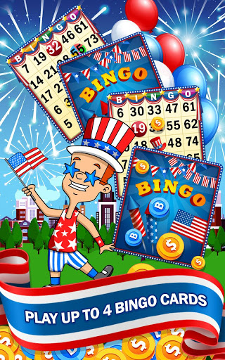 4th of July - American Bingo 3 تصوير الشاشة