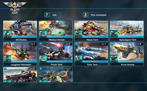 Glory of War - Mobile Rivals screenshot 8