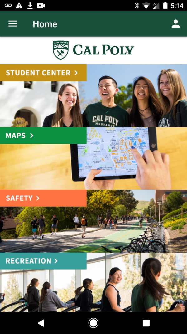 Cal Poly screenshot 1