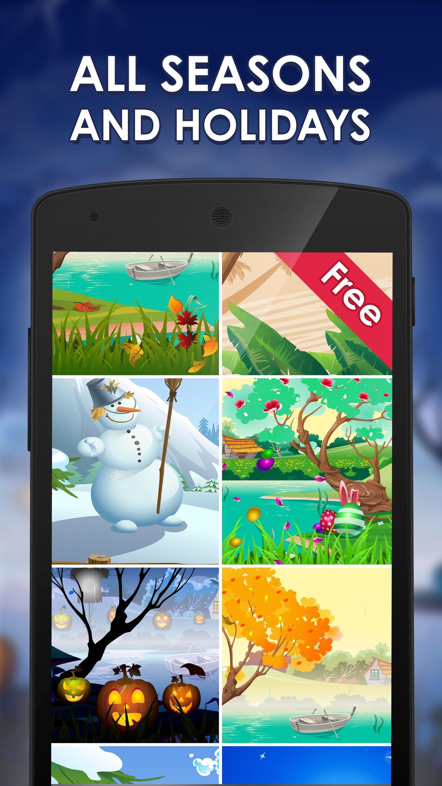Spring and Easter Live Wallpaper + Tamagotchi Pet screenshot 3