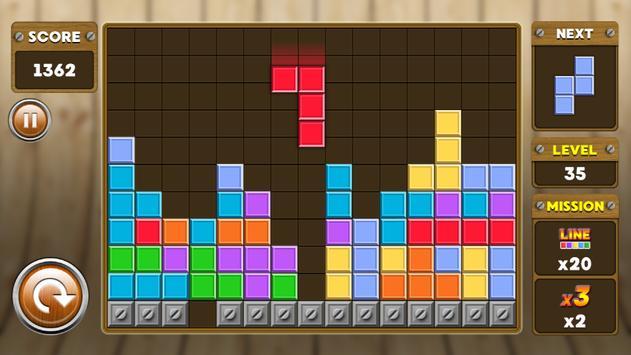 Block Puzzle 3 : Classic Brick 6 تصوير الشاشة