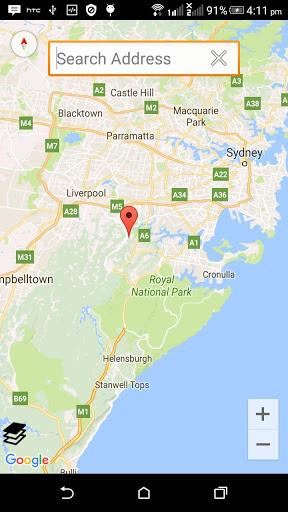 Mapa GPS grátis screenshot 2