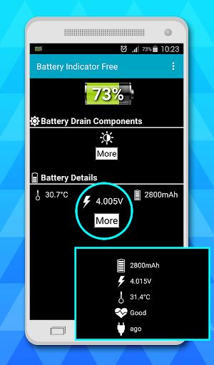 battery indicator free 3 تصوير الشاشة