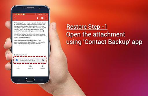 Contact Backup screenshot 6