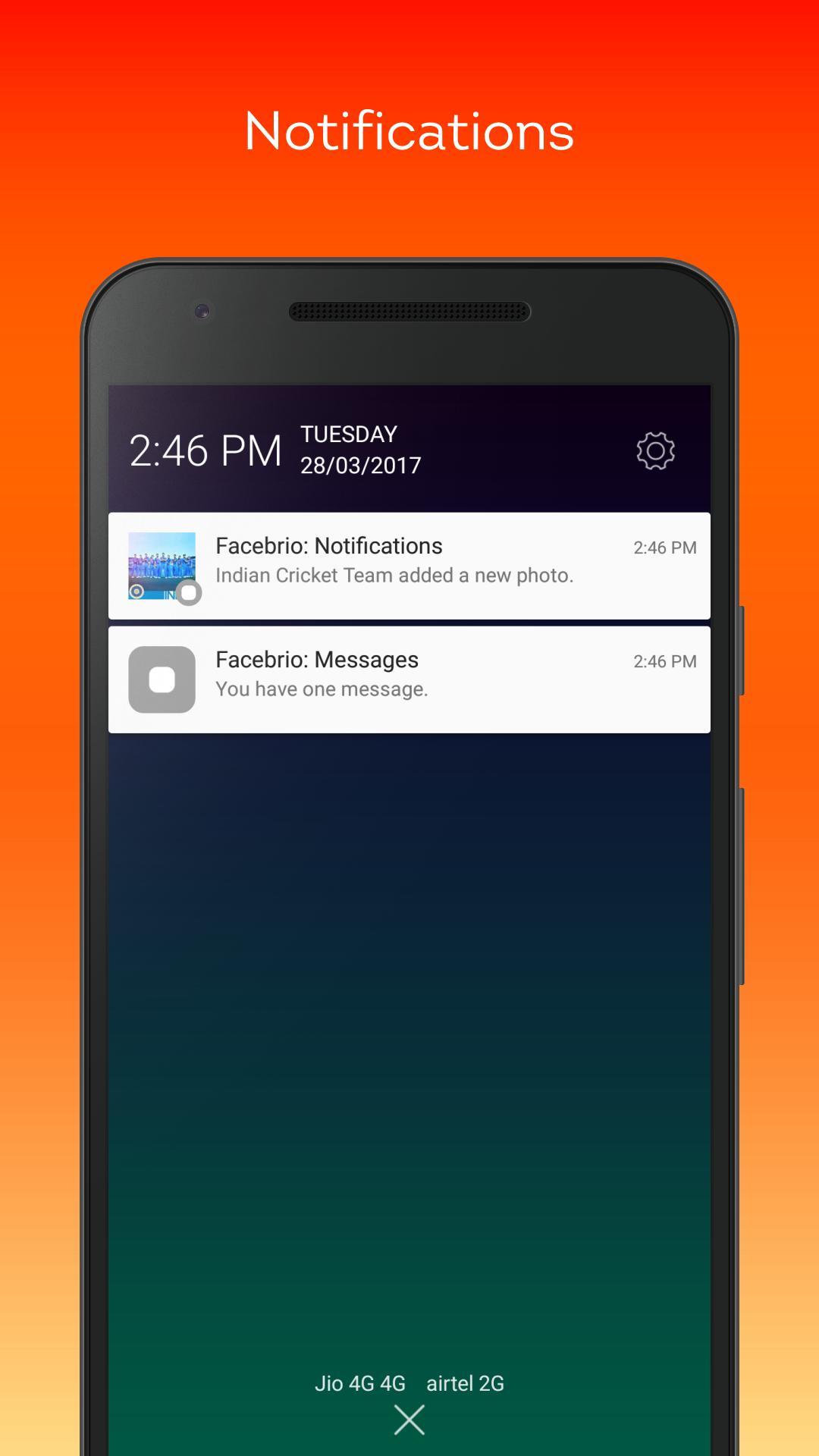 Fast for Facebook Lite- Facebrio screenshot 5