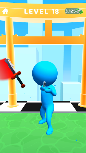 Sword Play! Ninja Slice Runner 3D screenshot 8