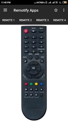Den Remote Control (7 in 1) 1 تصوير الشاشة