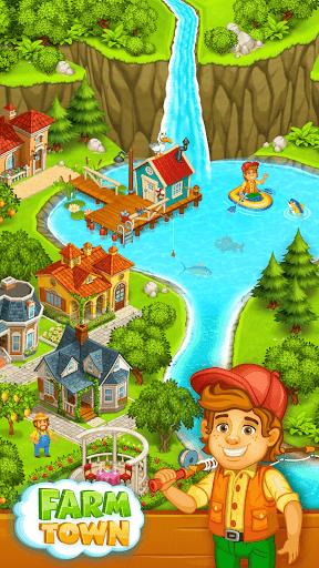 Farm Town: Happy farming Day & food farm game City screenshot 3