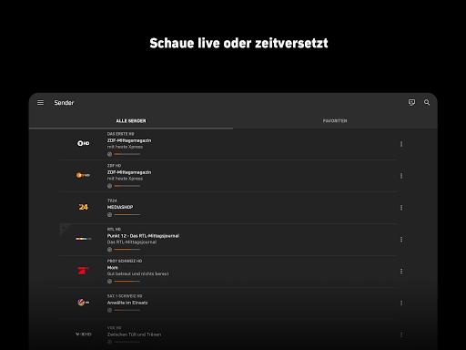 Zattoo - TV Streaming App screenshot 9