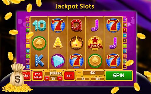 Free Offline Jackpot Casino 3 تصوير الشاشة