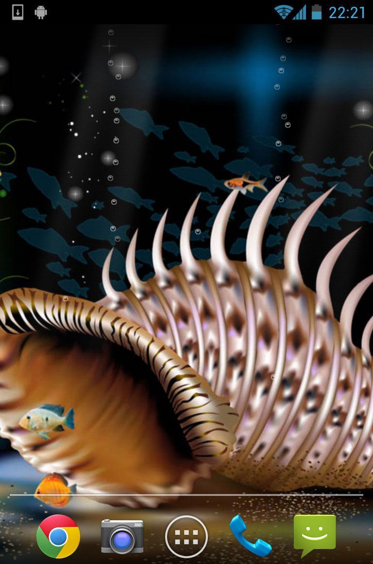 Aquarium Live Wallpaper 4 تصوير الشاشة