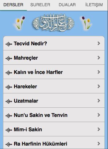 Kuran Tecvidi screenshot 1