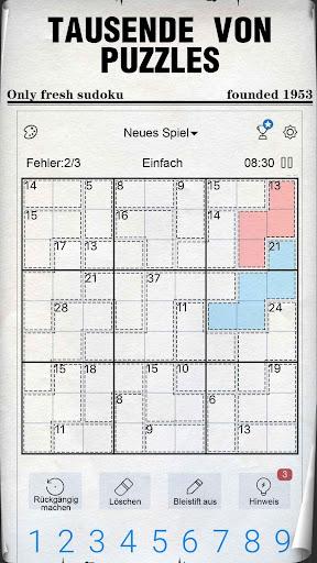 Sudoku - Kostenlose klassische Sudoku Puzzles screenshot 4