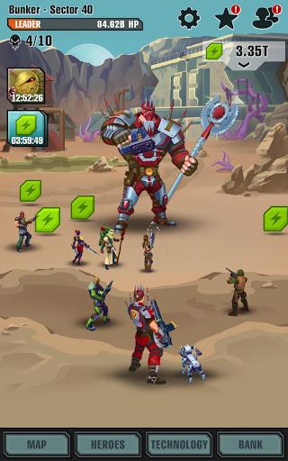 Сlicker idle game: Evolution Heroes स्क्रीनशॉट 20