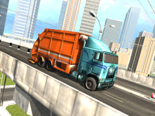 Garbage Truck Driving Simulator - Truck Games 2020 screenshot 12
