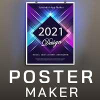 Poster Maker 2021 Video, ads, flyer, banner design on 9Apps