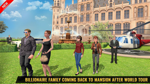 Billionaire Dad Luxury Life Virtual Family Games screenshot 2