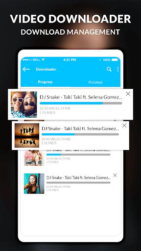 HD Video player - Video Downloader screenshot 2