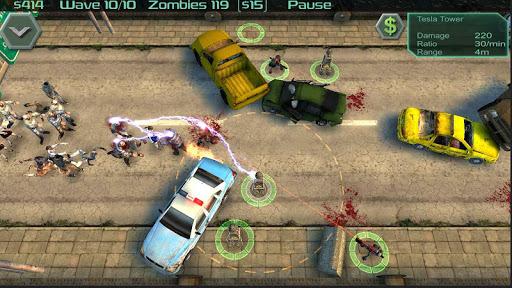 Zombie Defense 4 تصوير الشاشة