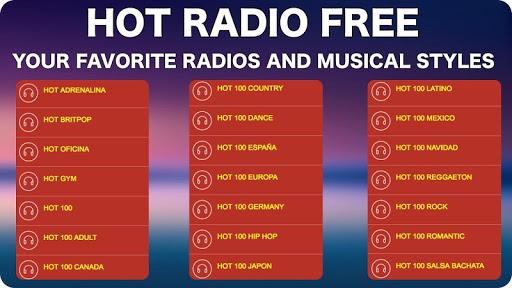FM Radio Internet 5 تصوير الشاشة