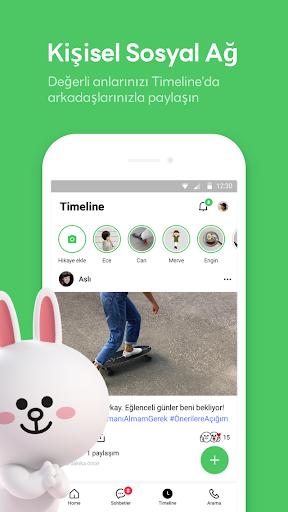 LINE: Ücretsiz Arama ve Mesaj screenshot 5