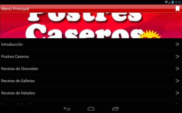 Postres Caseros 2.0 screenshot 6