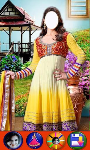 Salwar Suit For Girls : Women Salwar Photo Suit 2 تصوير الشاشة