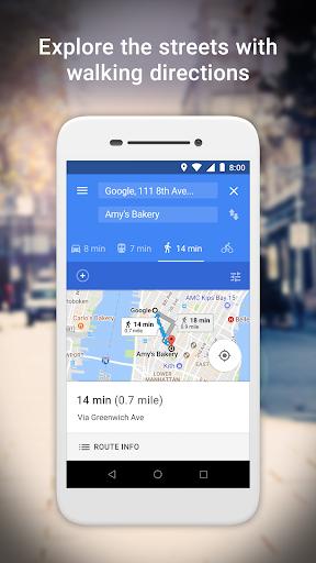 Google Maps Go - Directions, Traffic & Transit screenshot 4